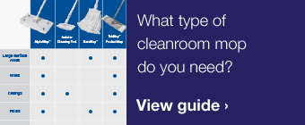 Cleanroom Mop Selection Guide