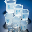 Azlon Plastic Beakers