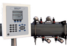 GE DigitalFlow™ CTF878 Correlation Tag Clamp-On Gas Ultrasonic Flowmeter