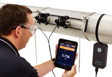 GE TransPort® PT900 Clamp-On Flowmeter for Liquid Flow Measurement