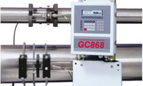 DigitalFlow™  GC868 Ultrasonic Flowmeter
