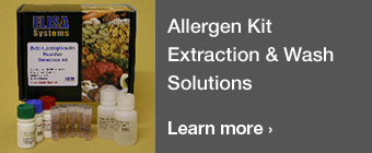 Allergen Kit Extraction & Wash Solutions