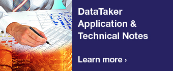 Data Taker Application Notes