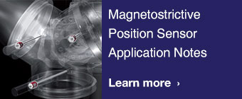 Magnetostrictive Position Sensor Application Notes