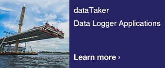 dataTaker Data Logger Applications